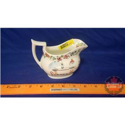 "Heirloom Pitcher ""Granny Clark Wedding Pitcher"" Married in 1821 (Note: comes with Ephemera detailing"