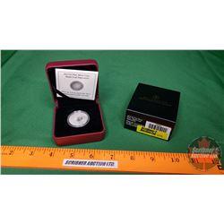 "RCM $3 Fine Silver Coin ""Maple Leaf Impressions"" 2013 (COA 5314/10000) (99.99%)"