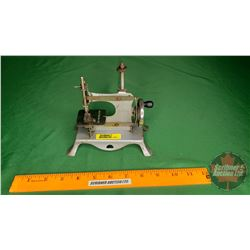 """Small Toy Hand Crank Sewing Machine """"Made in England"""" (6""""H x 6""""W x 3""""D)"""