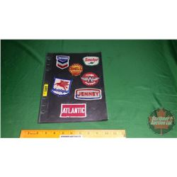 Patches (7): Chevron, Sinclair, Shell, Flying Service, Mobilgas, Jenney, Atlantic