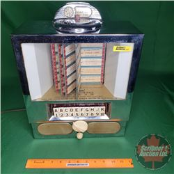 """Table Top Juke Box Consolette (Converted to AM Radio) (16""""H x 12""""W x 6""""D)"""