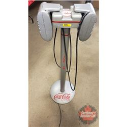 """Drive-In Speakers w/Coca-Cola Decaling (46""""H x 14""""Dia Base)"""