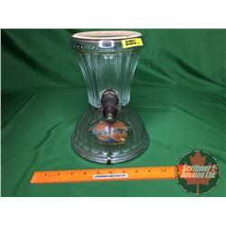"Orange Crush Syrup Dispenser Glass Base (10""H)"
