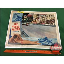 """""""The Young Racers"""" Movie Poster : American International Pictures 1963 (11"""" x 14"""")"""