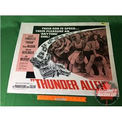 """""""Thunder Alley"""" Movie Poster : American International Pictures 1967 (22"""" x 28"""")"""