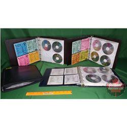 DJ CD's - Binder Lots (4) : Country & Pop (176) (See Pics)