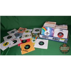 Tray Lot: Records 45's (Assorted Artists / Genres) (174) Incl: Janet Jackson, Tina Turner, Motley Cr