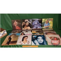 Box Lot: Records 33's (Ladies of the 80's) (26) Incl: Donna Summers, Juice Newton, Olivia Newton-Joh