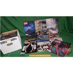 Box Lot: Life Magazines 1962, 1963, 1964 (60) (See Pics)