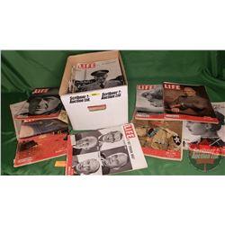Box Lot: Life Magazines 1951, 1952 (45) (See Pics)