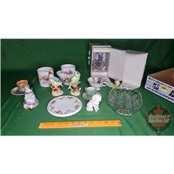 Assorted Ornaments & Glassware (See Pics)