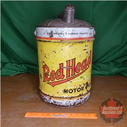 Red Head Motor Oil 5gal Pail (18 H)