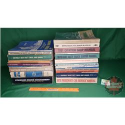 Variety of Vintage Service Manuals (30)