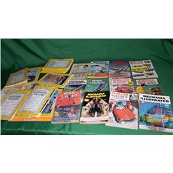 Tray Lot: Mechanics Illustrated, Popular Mechanics, The National Geographic Magazine