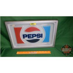 """Framed Pepsi Lens (11""""H x 16-1/2""""W)"""