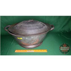 "Large Vintage Dough Pan (17""Dia)"