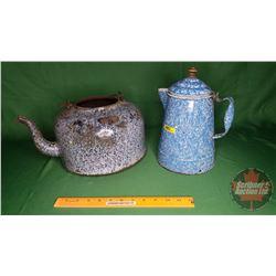 Enamel Tea & Coffee Pots