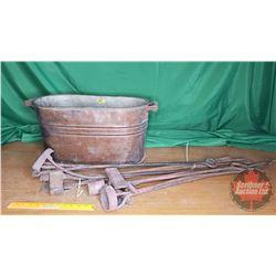 Copper Boiler w/Pulls