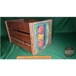 "Wooden Apple Crate (11""H x 12""W)"