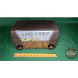 "Motorola Model 62X Radio (7-1/2""H x 13""W x 7""D) Decor Item - Not Working"