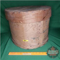 """Cheesebox (79lbs) (13""""H x 16""""Dia)"""