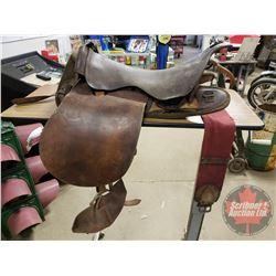 S&H Borbridge Ottawa 55B English Saddle w/Stirrups