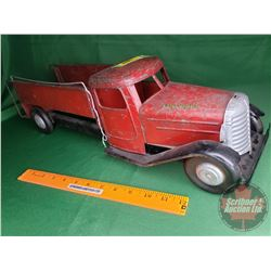 """Structo Toys Fire Dept Toy Truck (6-1/2""""H x 22""""L)"""