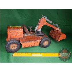 "Nylint Excavator Toy (9""H x 18""L)"