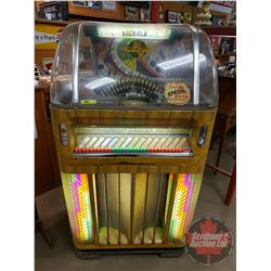 "ROCK-OLA 120 Fireball Jukebox - Model 143645 (S/N#130793A) (62""H x 32""W x 29""D)- NEEDS WORK"