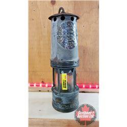 """Ackroyd & Best .. Makers Hailwoods Improved Lamp"" (10-1/2""H x 3""Dia)"