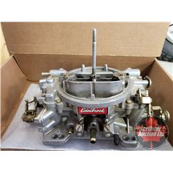 Edelbrock 4BBL Carburetor (Part #14071062) (Note: The Engines/Motorbikes & Engine Parts in this Auct