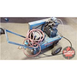 Webster Air Compressor - Portable (Note: Regulator Pipe Needs Replaced - Broken off)