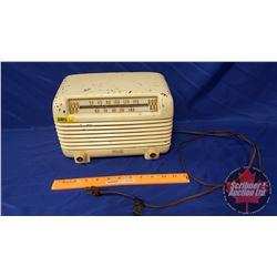 "Philco Transistor Tube Radio (11""W x 7""H x 6""D) (not working - Décor)"