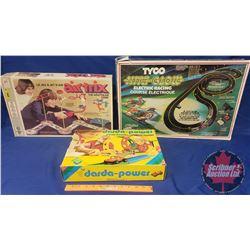 Darda Power Triple Loop & 1 Beach Buggy w/Darda Motor & Tykco Niteglow Electric Racing Set (Curve Hu
