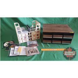 Variety of Cassettes & CD's (Country Music) w/Cassette Holder (72 Cassettes & 50 CD's)