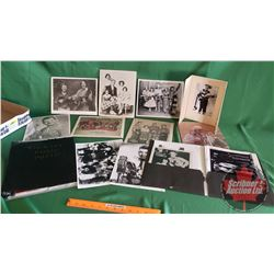 Tray Lot: Various Musician Promotional Photographs (Country & Western)  (MUST SEE PICS)