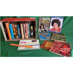 Box Lot: 24 Country Music Books (Hardcover & Paperback) (Incl: Statler Brothers, The Tex Ritter Stor