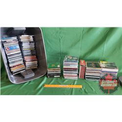 Tote Lot: CD's : Large Variety Country & Western (134+)