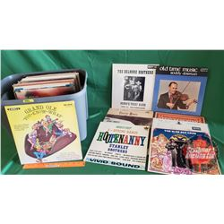 Tote Lot: Record Albums (LP's) Variety Country & Western (52+) (Incl: Charlie Moore, Mac Odell, Roy
