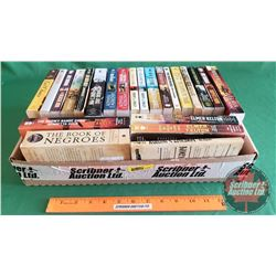 Tray Lot: Paperback Book Collection - Western Adventures (23) (See Pics for Titles)