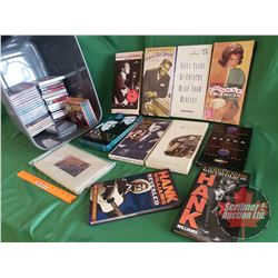 Tote Lot: Country & Western CD Box Sets (28) (Incl: Marty Robbins, Jimmie Rodgers, Connie Francis, F
