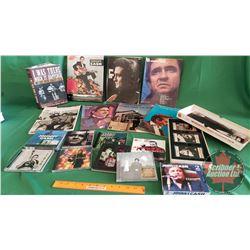 Box Lot: Johnny Cash Collection (Souvenir Books, Music Books, Biographies, CD's & Cassette Tapes)