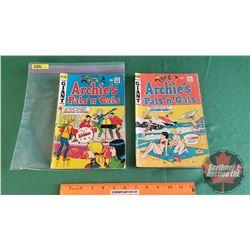 ARCHIE'S PALS 'n' GALS – Giant Series COMICS (2): My Kind People #60 c.1970 ; It's Ornamental #47 c.