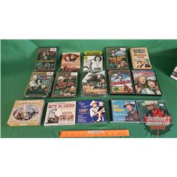 Tray Lot: Roy Rogers Collection (DVD's, CD's, Book)