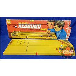 """Two Cushion Rebound Game by Ideal Toys (33"""" x 11"""")"""