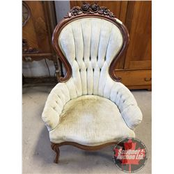 """Victorian Parlor Chair (43""""H)"""