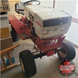 """""""Roper"""" Lawn Tractor (no Mower) c/w 16hp Engine on the side (Not Running - Project) (Note: The Engin"""