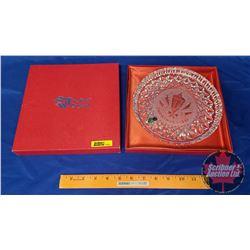 "Waterford Crystal ""Christmas Plate 1984"" in Orig Box"