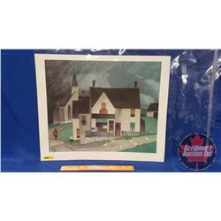 """Country Store by A.J. Casson Print (200/695) (18"""" x 22"""")"""