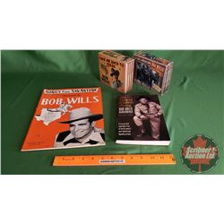 Bob Wills Collection (Song Book, 2 Box Sets, Bob Wills Remembered Book)